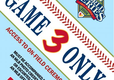 MLB Credential Badge Designs